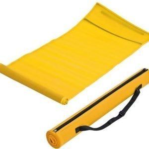 Beach mat rantamatto kantokassilla keltainen