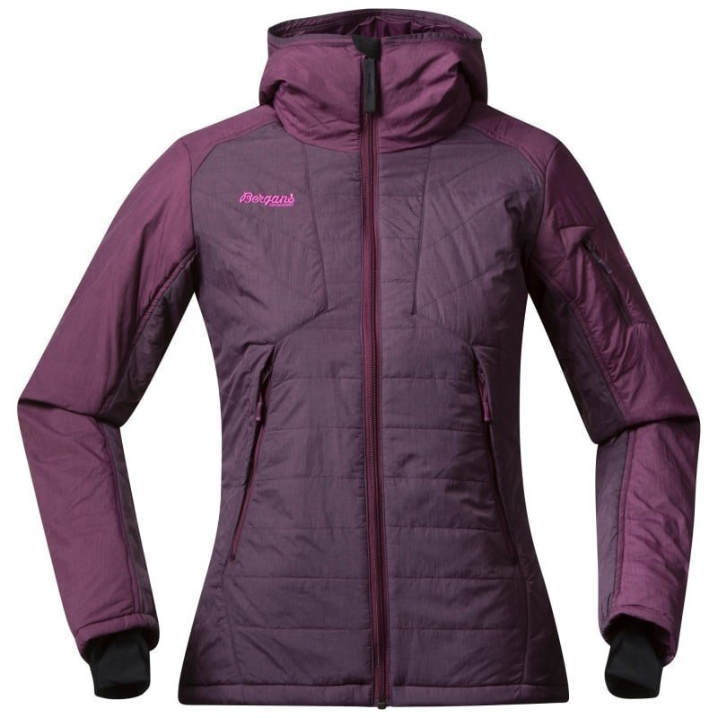 Bergans Bladet Insulated Lady Jacket S Dark Plum/Plum
