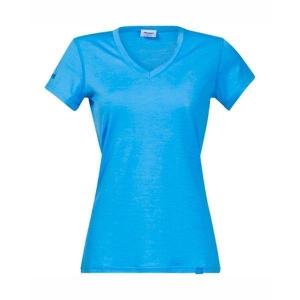 Bergans Bloom naisten t-paita merinovilla taivaansininen