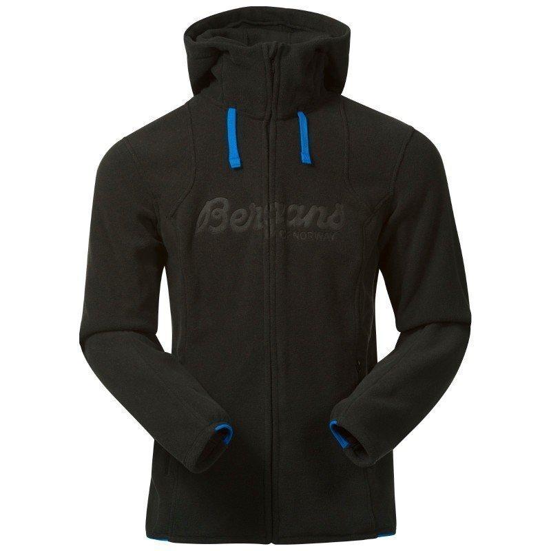 Bergans Bryggen Jacket S Black/Athens Blue