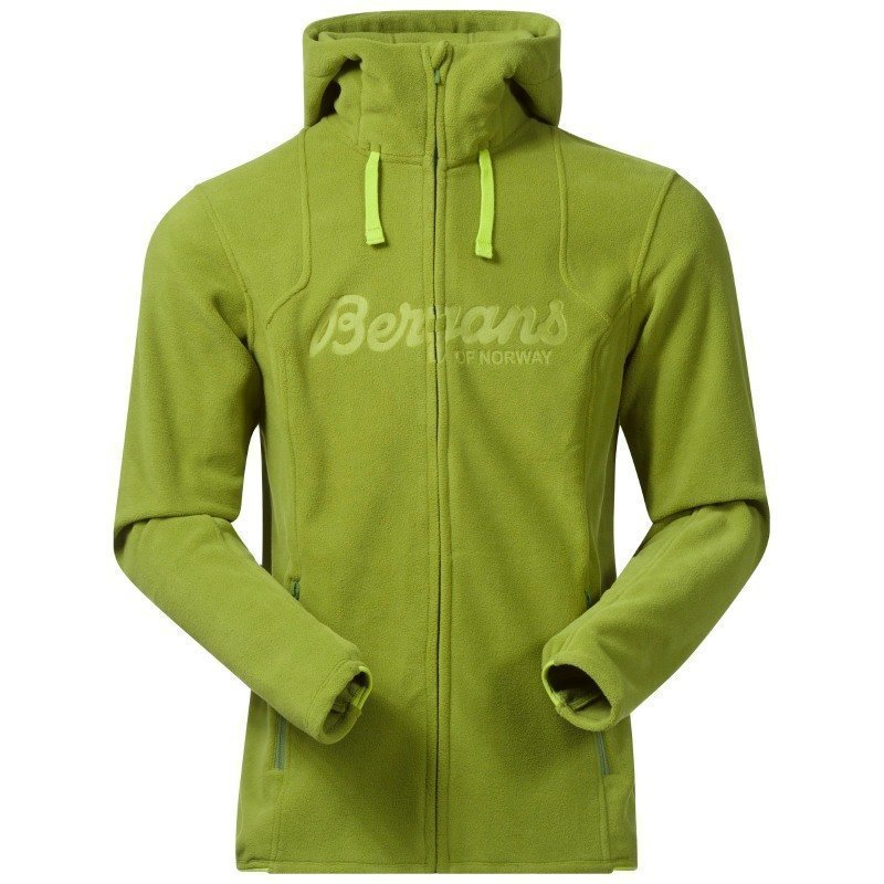 Bergans Bryggen Jacket S Spring Green/Spring Leaves