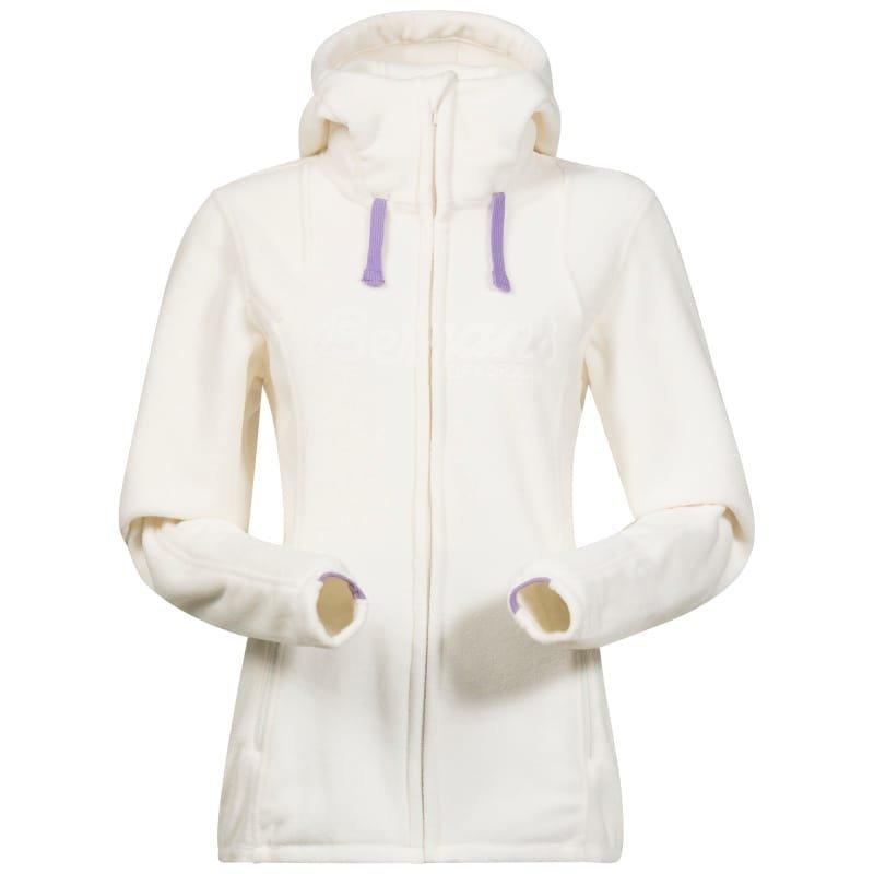 Bergans Bryggen Lady Jacket M White/Soft Lavender