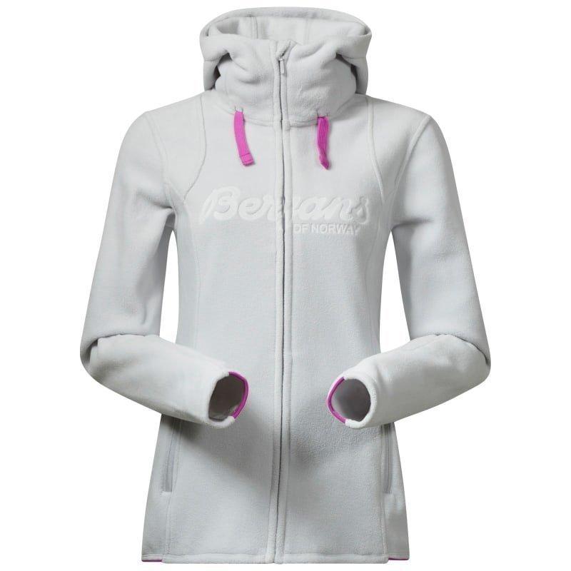 Bergans Bryggen Lady Jacket XL Alu/Pinkrose