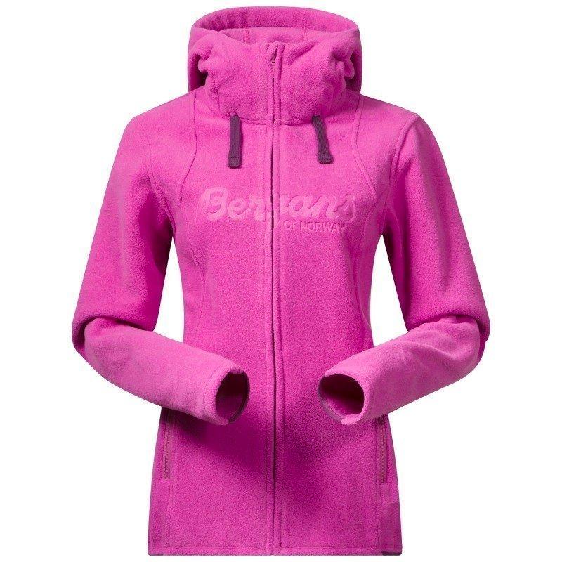Bergans Bryggen Lady Jacket XL Pink Rose/Plum