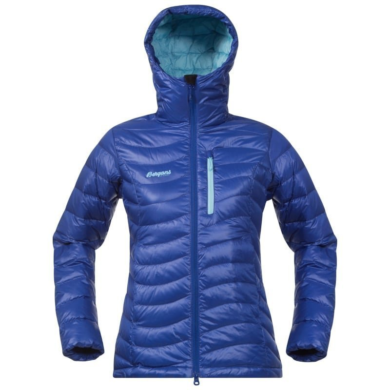 Bergans Cecilie Down Light Jacket L Inkblue/Ice