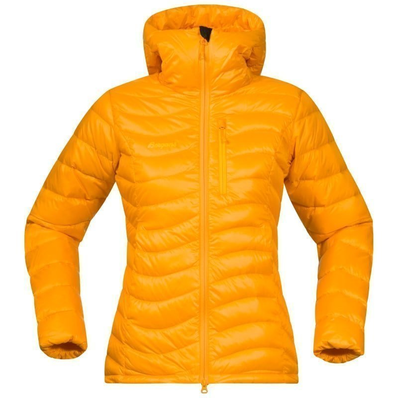 Bergans Cecilie Down Light Jacket M Nectarine/Sunflower