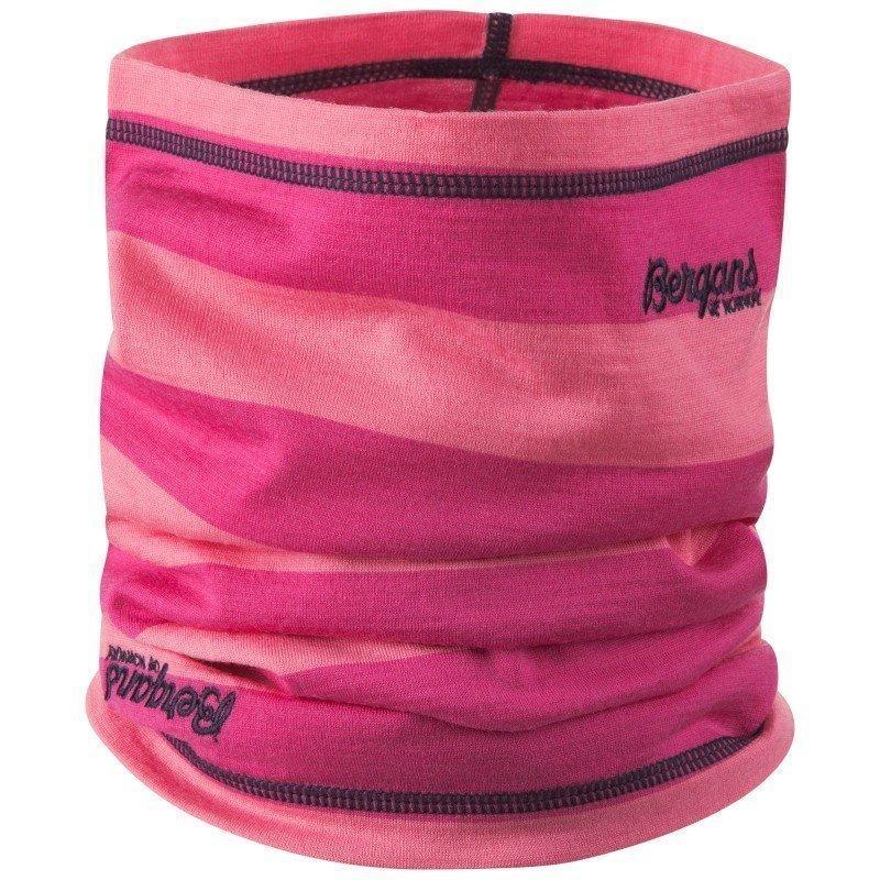 Bergans Fjellrapp Kids Neck Warmer ONE SIZE Lollipop Striped