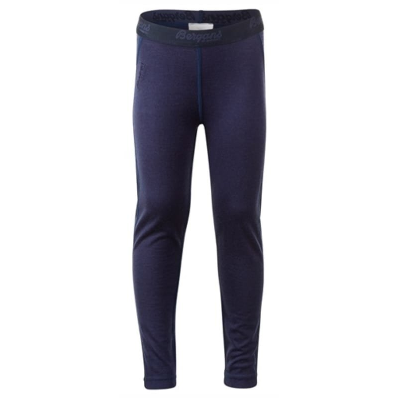 Bergans Fjellrapp Kids Tights 122 Navy