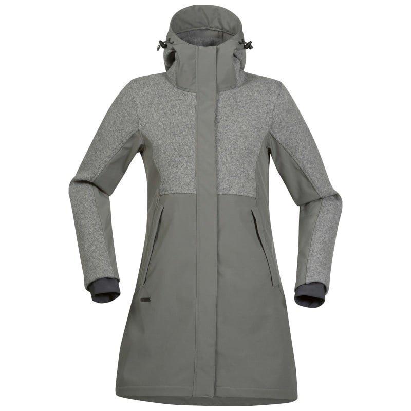 Bergans Flora Hybrid Lady Coat L Solidgrey