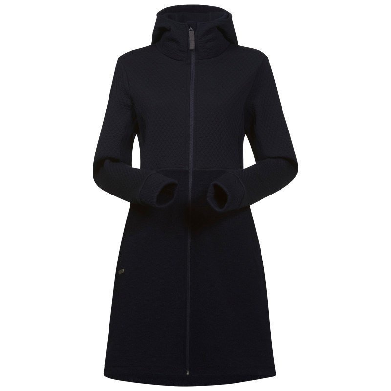 Bergans Flora Wool Lady Coat S Midnight Blue
