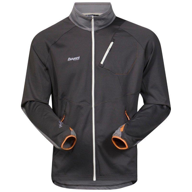 Bergans Galdebergtind Jacket S SolidCharcoal/Solidgrey/Pumpki