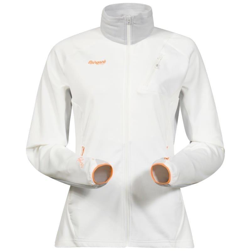 Bergans Galdebergtind Lady Jacket M White/Alu/Pumpkin