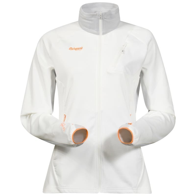 Bergans Galdebergtind Lady Jacket S White/Alu/Pumpkin