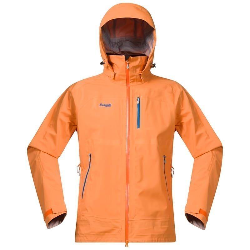 Bergans Gjende Jacket S Pumpkin/Athensblue/Alu