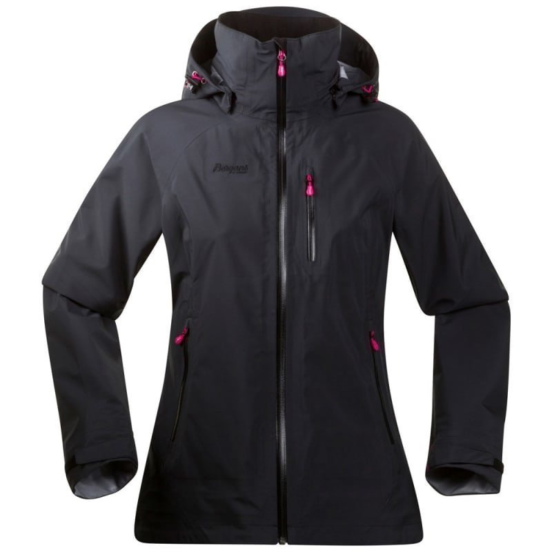 Bergans Gjende Lady Jacket L Black/Hot Pink