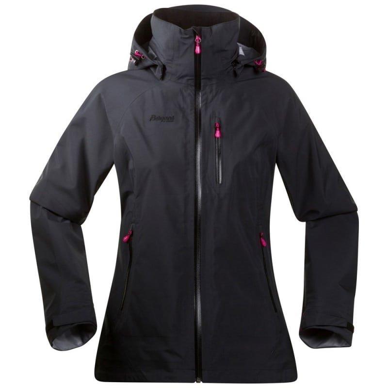 Bergans Gjende Lady Jacket L Black/Hot Pink