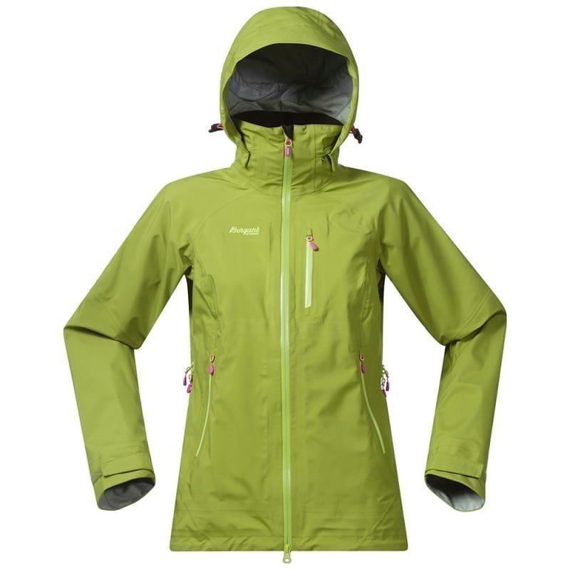 Bergans Gjende Lady Jacket XL Springgreen/Springsleave/Pink