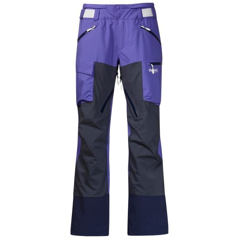Bergans Hafslo Insulated Lady Pant L Funky Purple/Night Blue/White