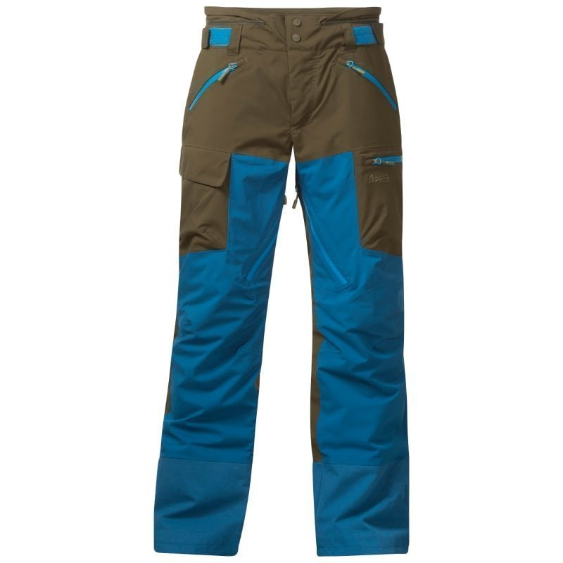 Bergans Hafslo Insulated Pant S Armygreen/Dp Sea/Lt Seablue