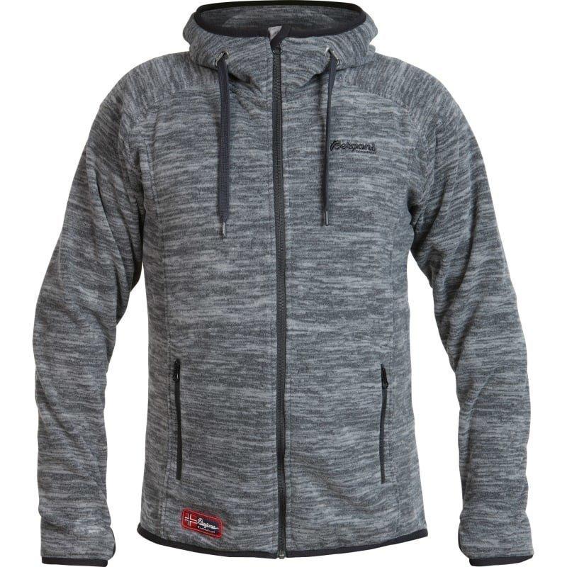 Bergans Hareid Jacket S Sold Dk Grey Melange