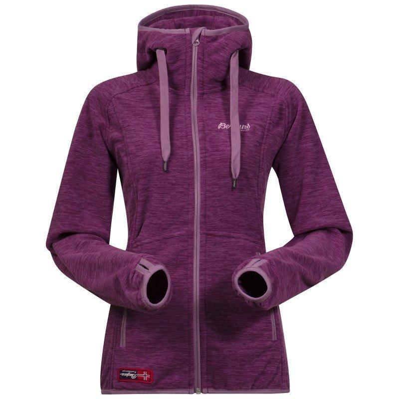 Bergans Hareid Lady Jacket XL DUSTYPLUM MEL