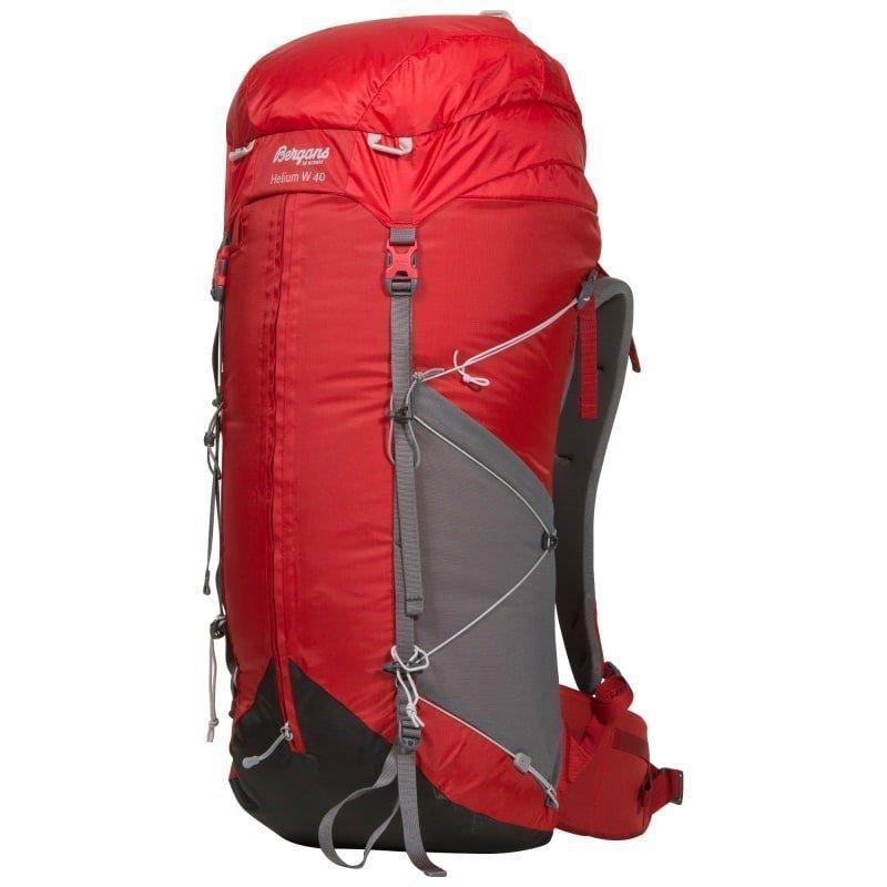 Bergans Helium W 40 40 Red/Solid Grey