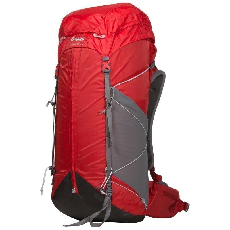 Bergans Helium W 55 55 Red/Solid Grey