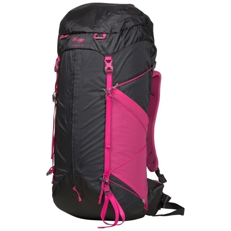Bergans Helium W 55 55 Solid Charcoal/Hot Pink