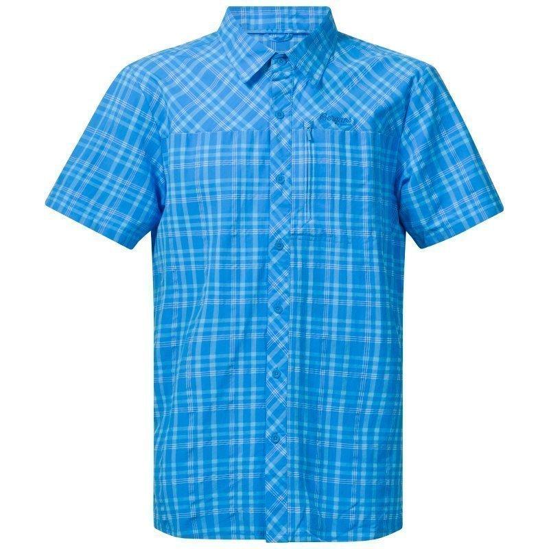 Bergans Langli Shirt SS S Lt Wintersky Check