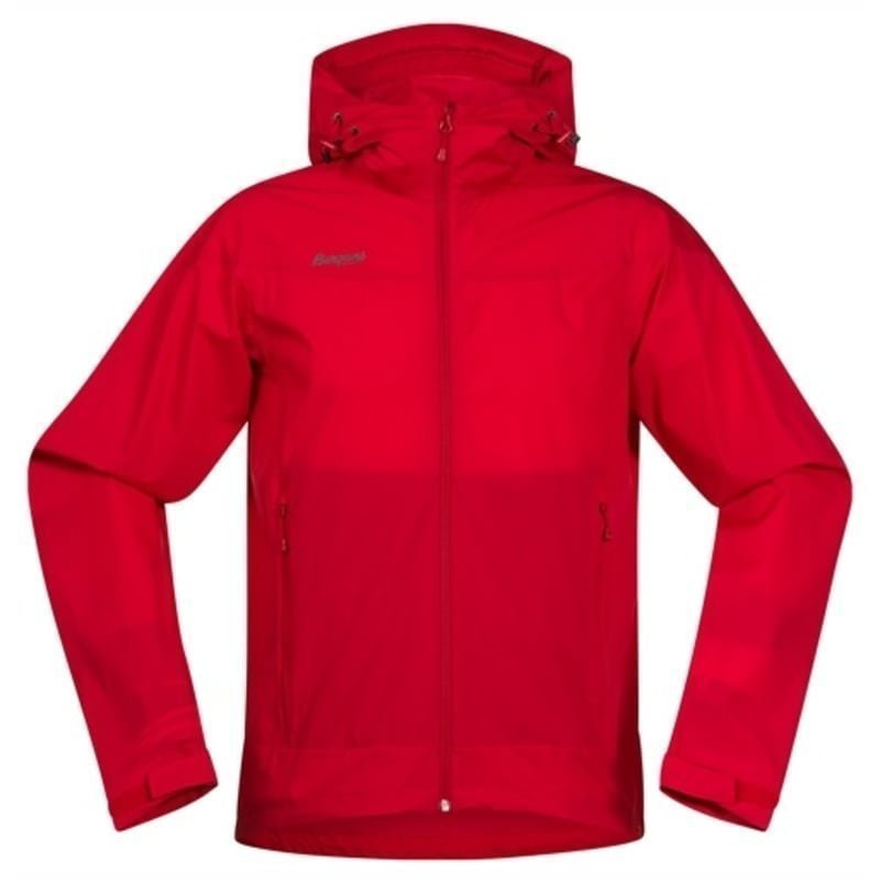 Bergans Microlight Jacket S Red
