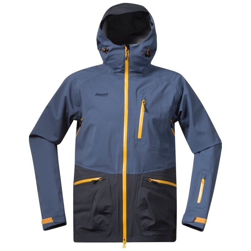 Bergans Myrkdalen Insulated Jacket M DustyBlue/NightBlue/Desert Sun