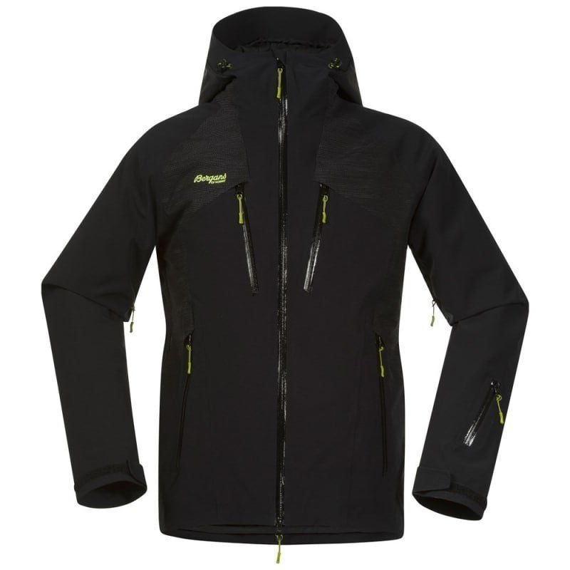 Bergans Oppdal Insulated Jacket XXL Black/Solid Charcoal/ Spring