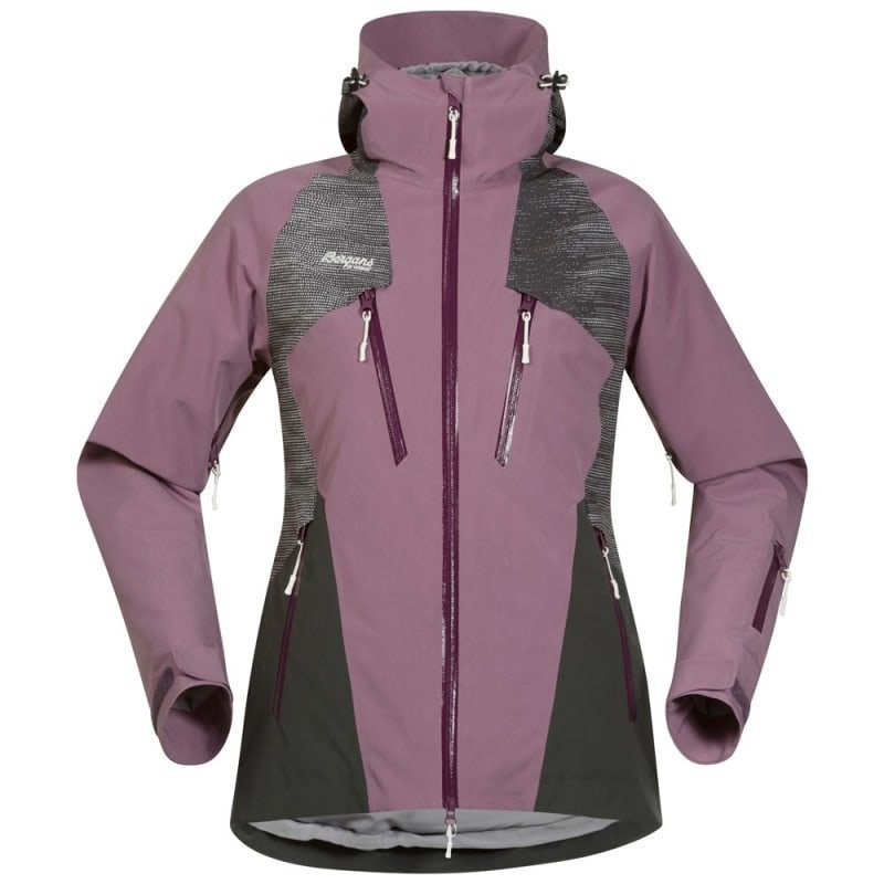 Bergans Oppdal Insulated Lady Jacket XL Dusty Plum/Solid Charcoal/Plum