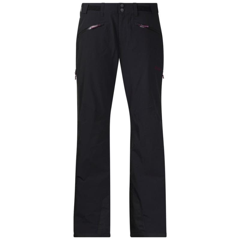 Bergans Oppdal Insulated Lady Pant L Black/Plum