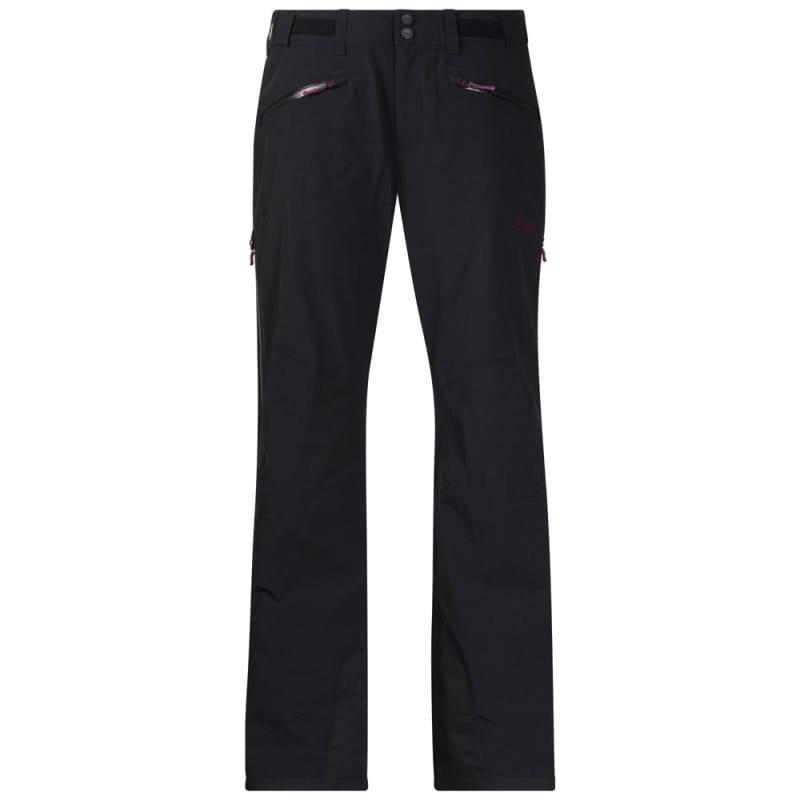 Bergans Oppdal Insulated Lady Pant L Black/Plum