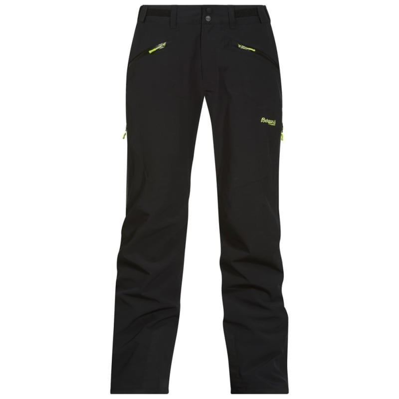 Bergans Oppdal Insulated Pants L Black/Spring Leaves