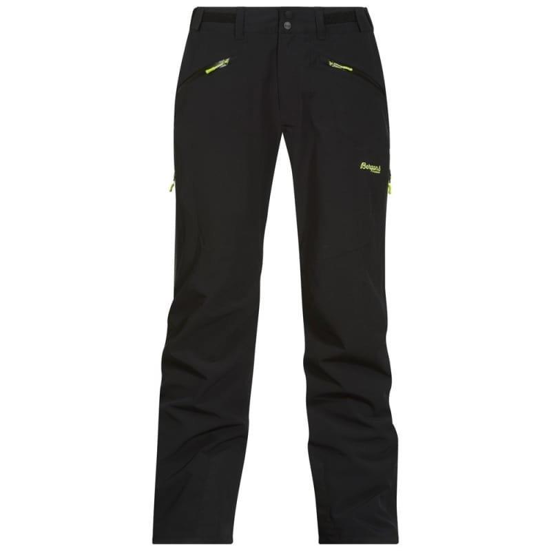 Bergans Oppdal Insulated Pants L Black/Spring Leaves