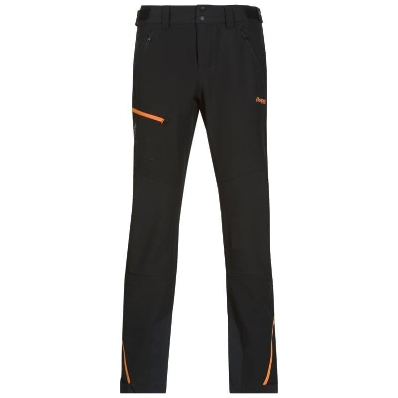 Bergans Osatind Lady Pant XL Black/Pumpkin