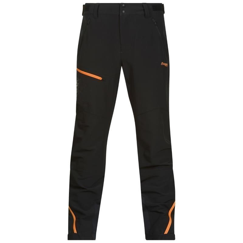Bergans Osatind Pant S Black/Pumpkin