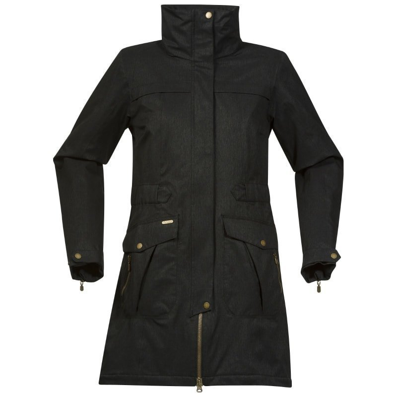 Bergans Oslo Ins Lady Coat L Black