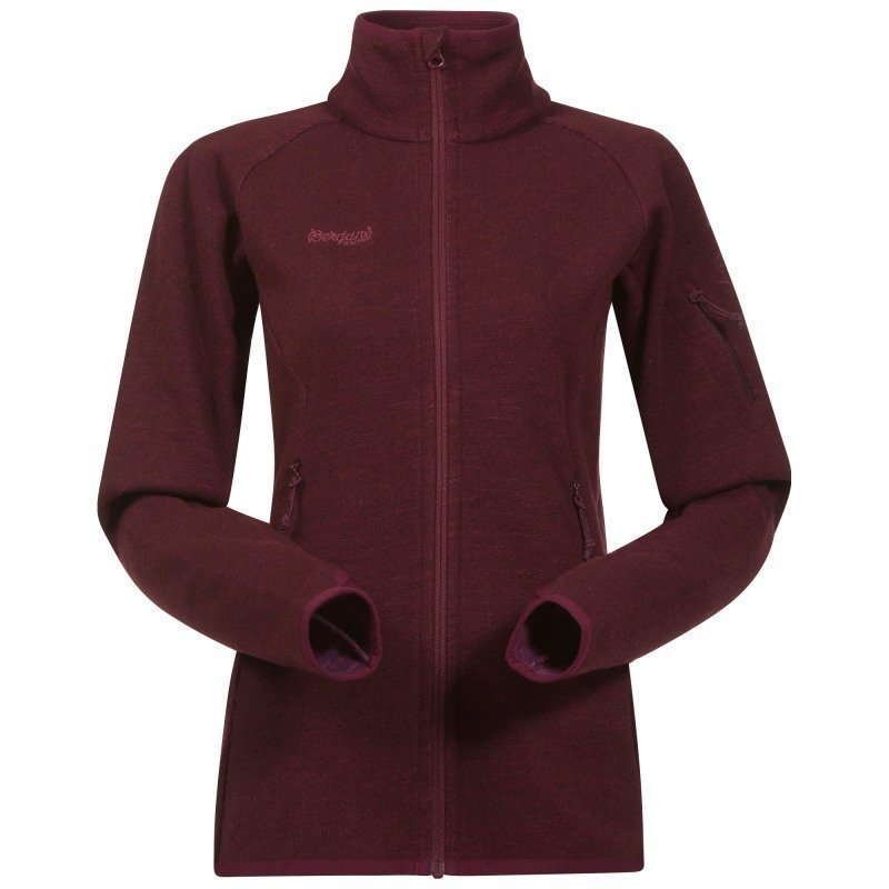 Bergans Reinfann Lady Jacket L Dk Ruby/Ruby
