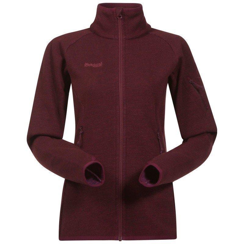 Bergans Reinfann Lady Jacket M Dk Ruby/Ruby