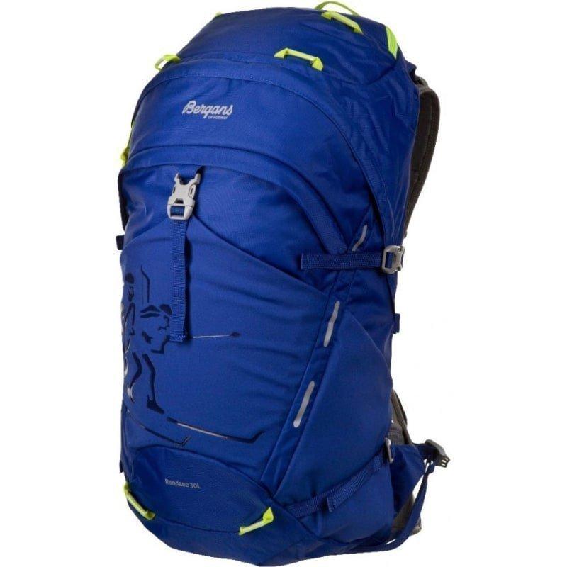 Bergans Rondane 30L 30 Blue/Neongreen