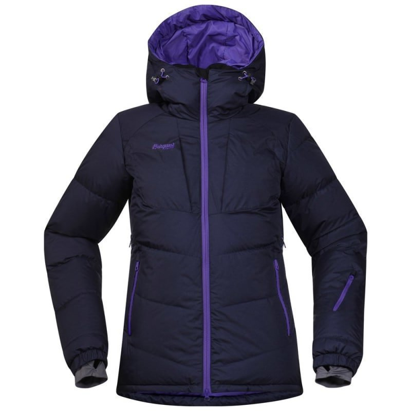 Bergans Sauda Down Lady Jkt L Navy/Funky Purple