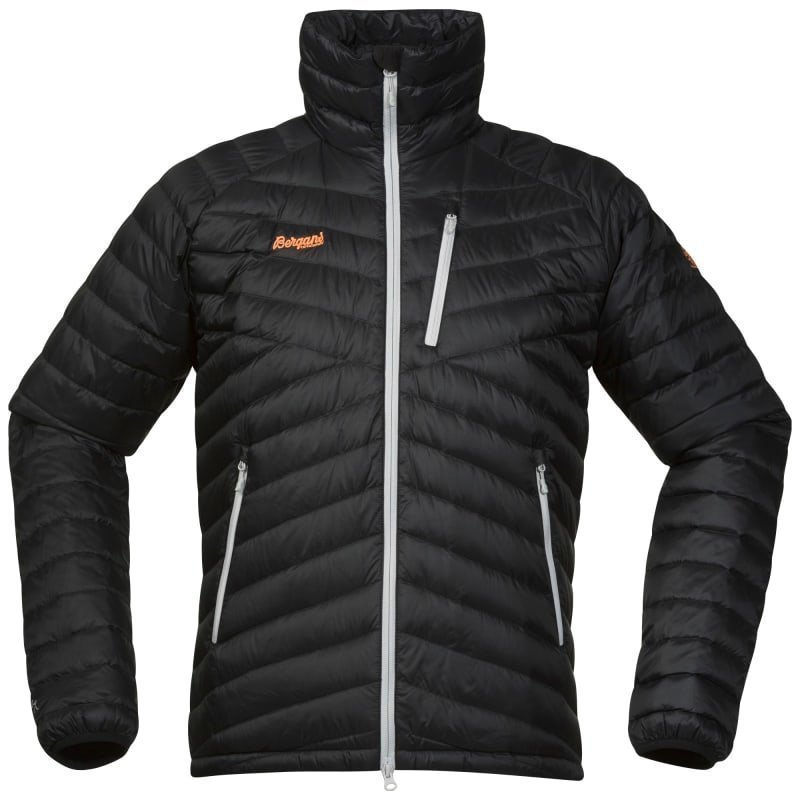Bergans Slingsbytind Down Jacket S Black/Alu/Pumpkin