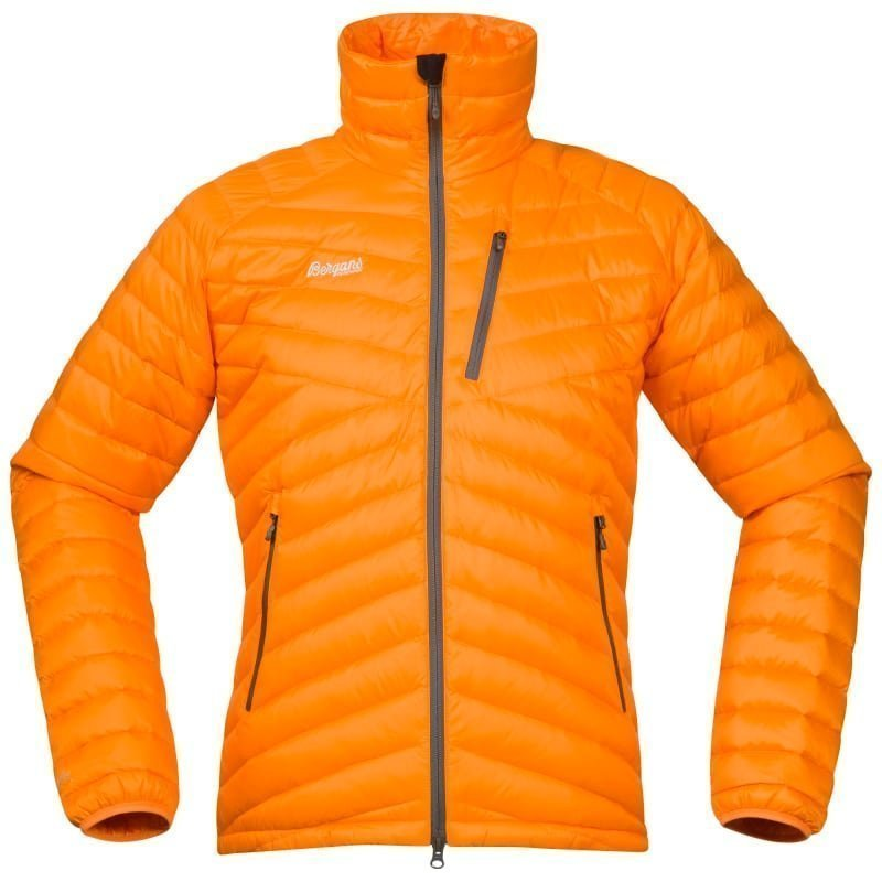 Bergans Slingsbytind Down Jacket XL Pumpkin/Solid Dk Grey/Alu