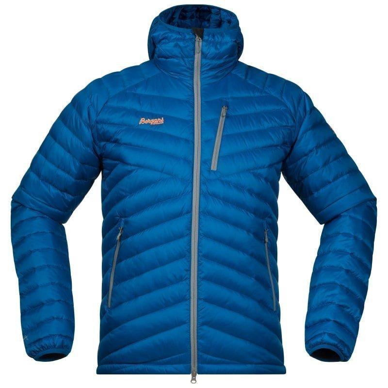 Bergans Slingsbytind Down Jacket w/Hood XL Ocean/SolidGrey/Pumpkin