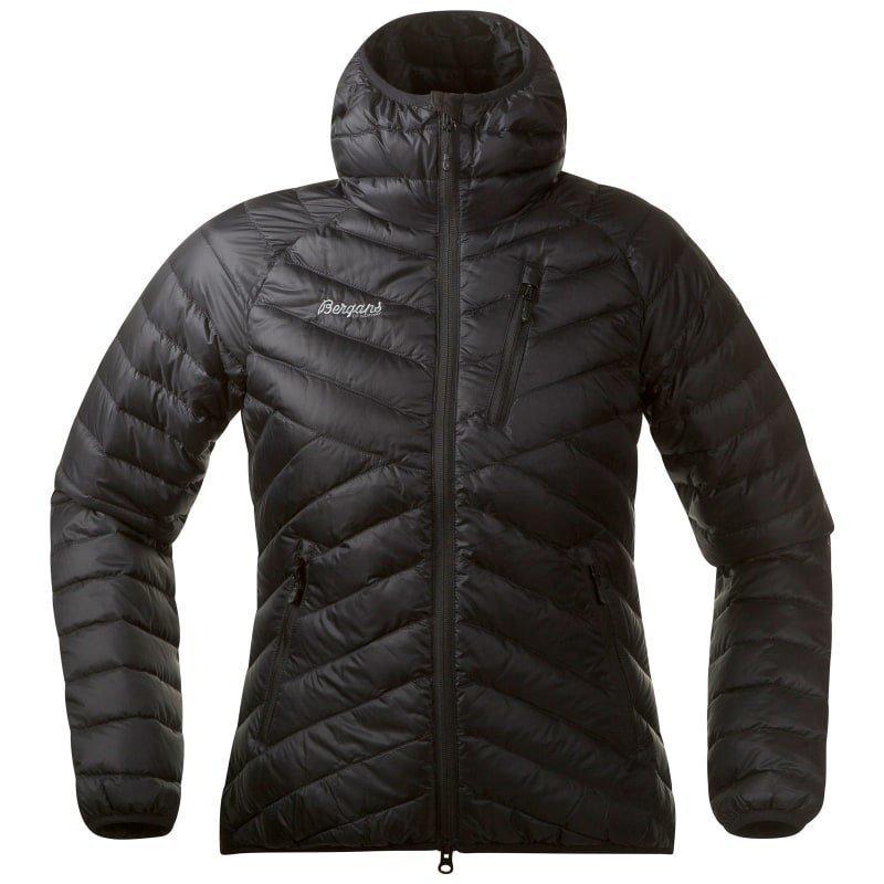 Bergans Slingsbytind Down Lady Jacket w/Hood S Black