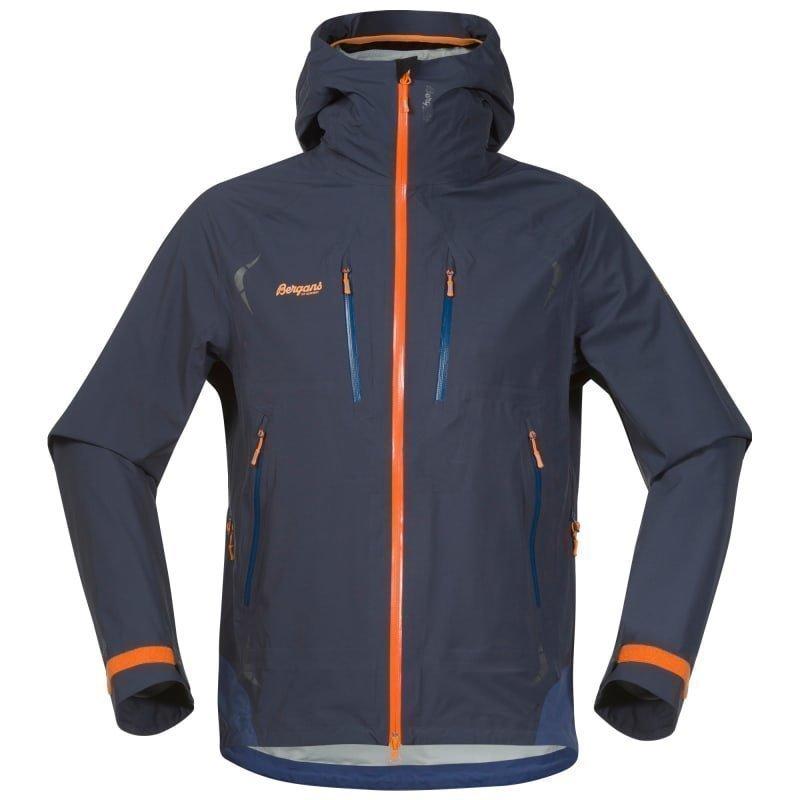 Bergans Storen Jacket L Night Blue/Dusty Blue/Pumpkin