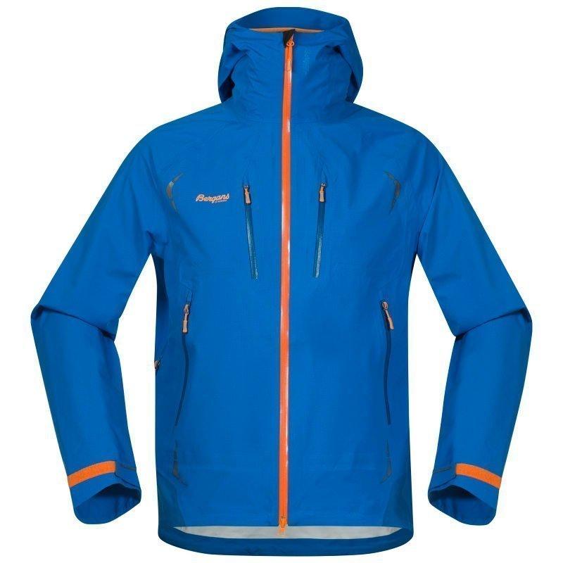 Bergans Storen Jacket M Athens Blue/Ocean/Pumpkin